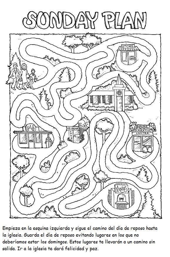 Increíble Páginas Primarias Para Colorear Lds Ideas - Dibujos Para ...