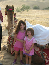 Ava, Claire & Vinto the camel