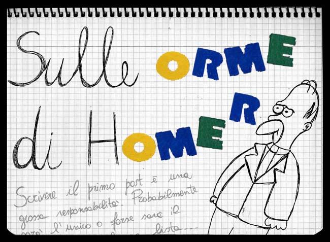 Sulle Orme di Homer