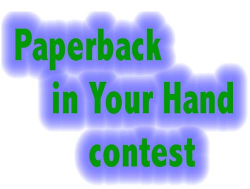 Paperback in Your Hand contest