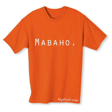 orange shirt, orange t-shirt, smally shirt, mabaho, orange na damit, stinky shirt, dirty shirt, funny shirts, statement shirt