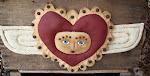 Prim Valentine Cupid Face