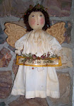 PRIM FOLK ART ANGEL