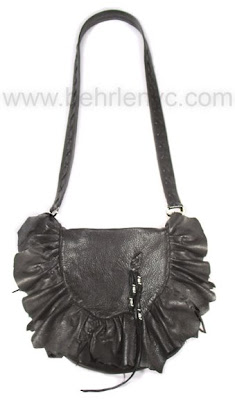 black-deerskin-bag
