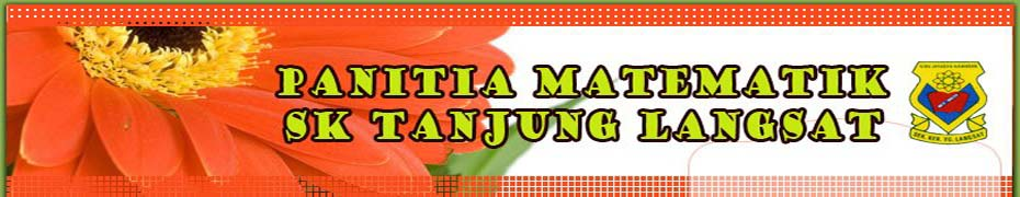 Panitia Matematik SK Tg Langsat
