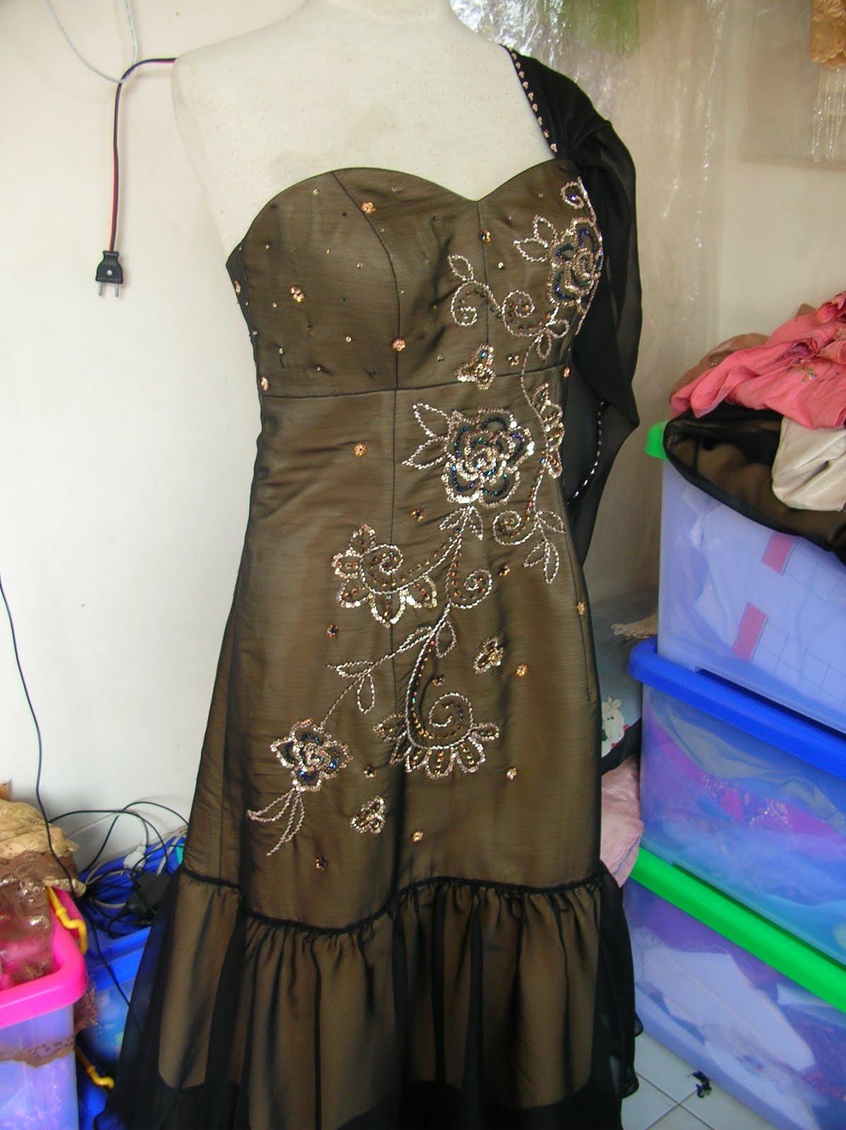 Payet Gaun Pesta | Desain Baju Pesta, Kebaya Modern dan Gaun Pengantin