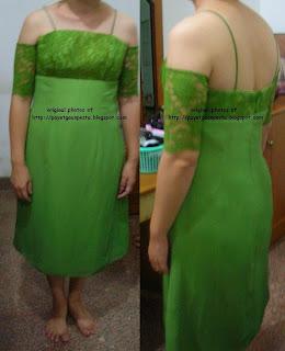 model gaun pesta untuk keluarga yang dikenakan saat upacara gereja