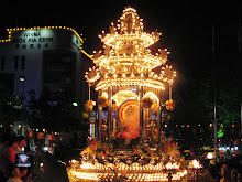 The Main Float during Wesak procession