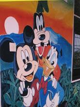 Wall mural at Mudita Home