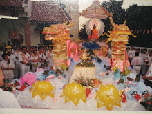 The Main Float in 1995 Wesak Day