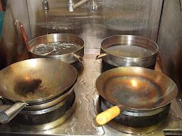 Gas Stir Fry Wok