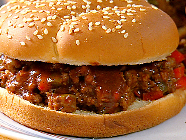 Have some sloppy joes. I made 'em extra sloppy for yous. I know yous ...