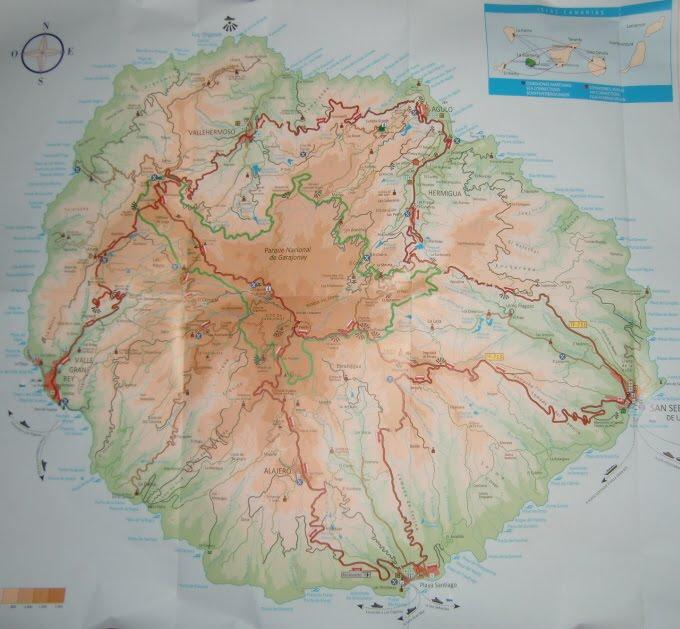 dutchlink La Gomera 25 Oct to 1 Nov 2010