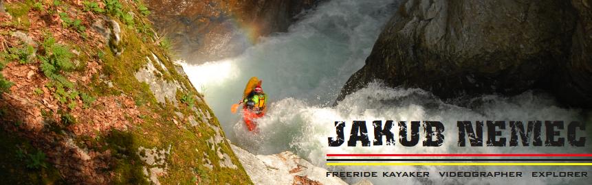 Jakub Nemec - freeride kayaker