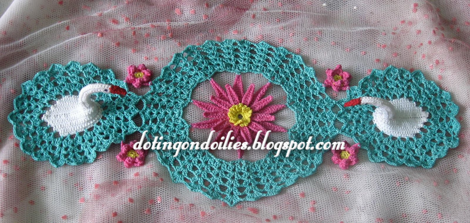 CROCHET DOILY GRAPE - Crochet ? Learn How to Crochet