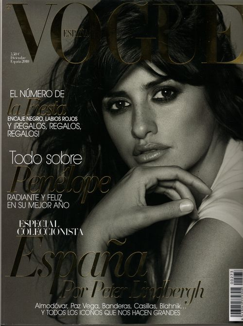 penelope cruz vogue 2010. Penelope Cruz, not a happy bunny. All pregnant women pretend they've never