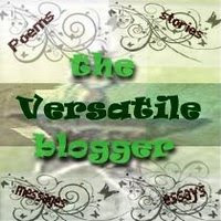 WOW!!! The Versatile Blogger Award! I Blush!!!