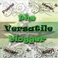 WOW!!! The Versatile Blogger Award! I Blush!!!