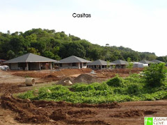 casitas under construction (overnight cottages)