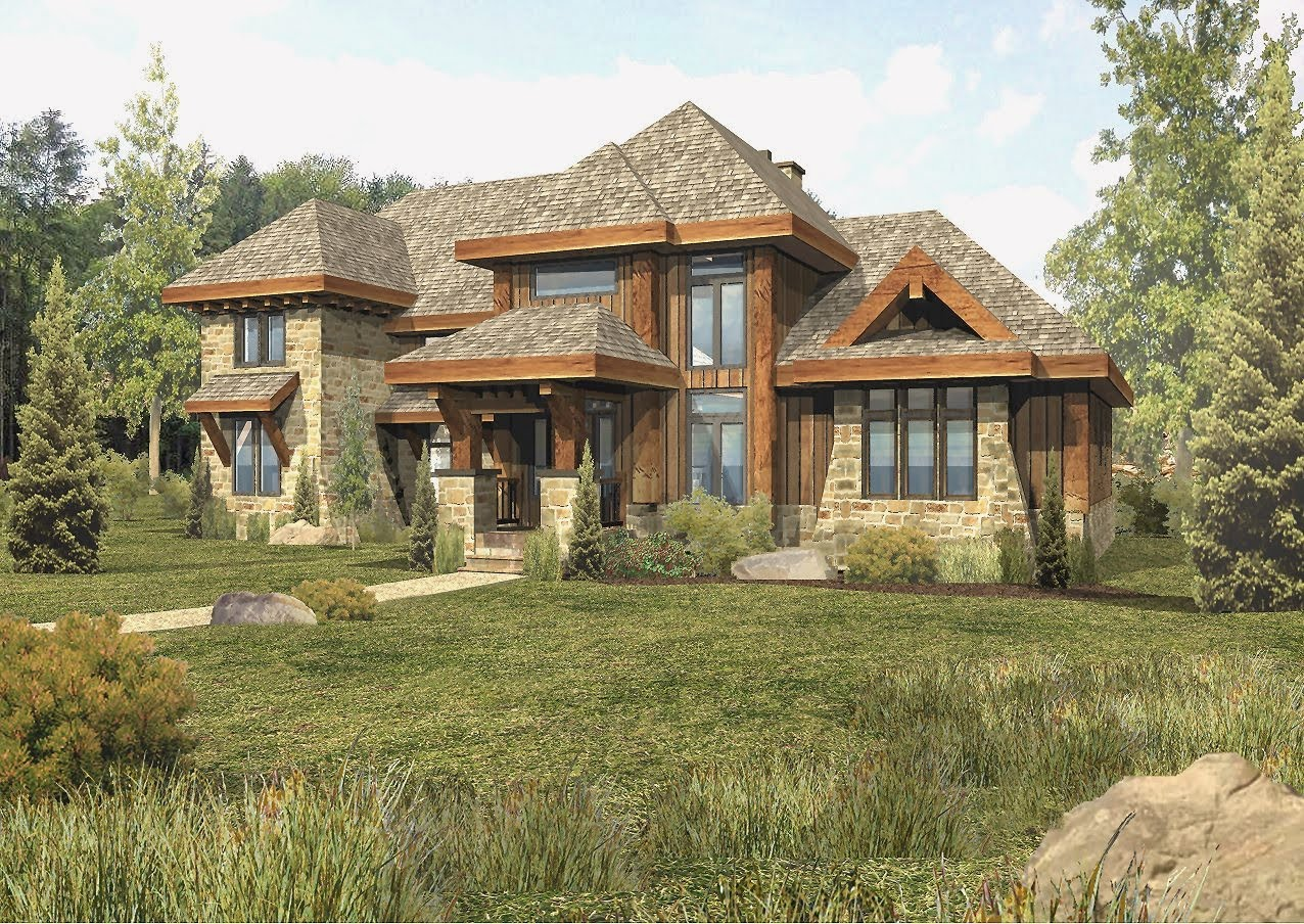 Log home floor plans by wisconsin log homes inc for Craftsman log home plans