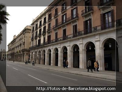 El paseo col n fotos de barcelona - Restaurante 7 puertas barcelona ...