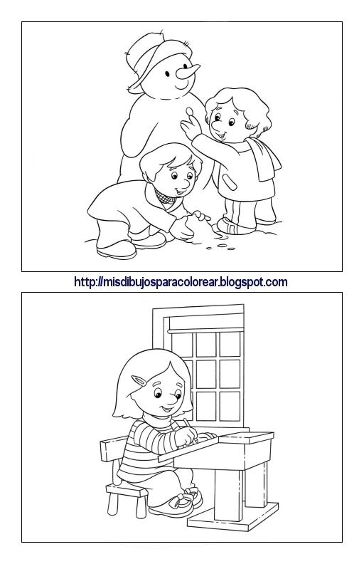 Dibujos De Pat El Cartero 1ª Parte Mis Dibujos Para Colorear