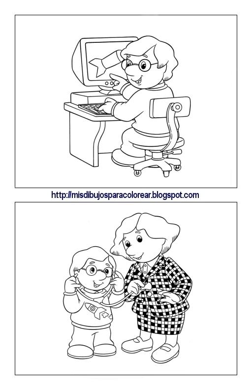 Dibujos De Pat El Cartero 3ª Parte Mis Dibujos Para Colorear