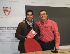 Con D. Jesús Alvarado