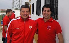 Con Miguel Ángel Gómez