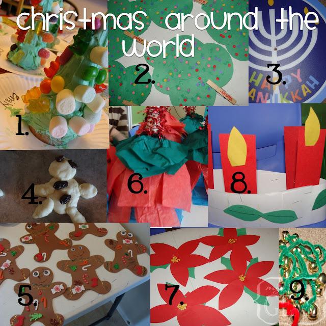 My Little Gems: Christmas Around The World Ideas
