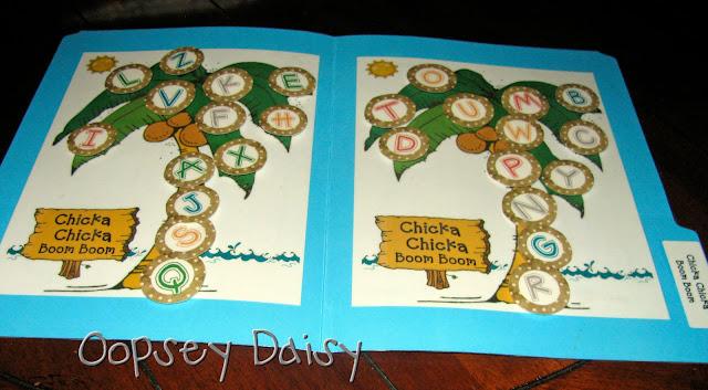 ALFABETIERE e attività varie sull'acquisizione ed il riconoscimento delle lettere dell'alfabeto Chicka_coconuts+on+2+trees