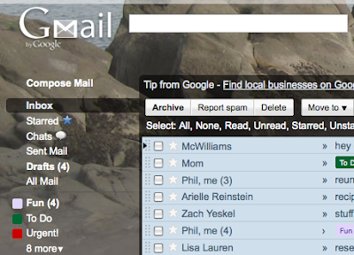 google japan blog gmail のテーマを 4 種類追加しました