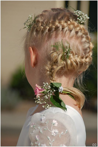 Easy Wedding Hairstyles wedding hair flower