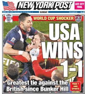 New York Post US Wins 1-1
