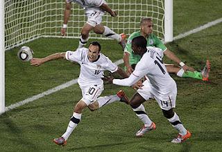 Donovan scores World Cup goal