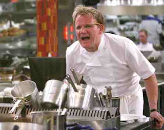 Gordon Ramsay yelling