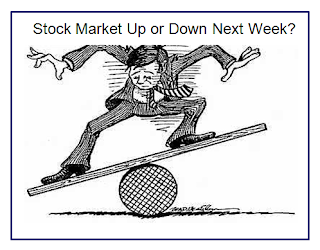 Stock Market up or down cartoon