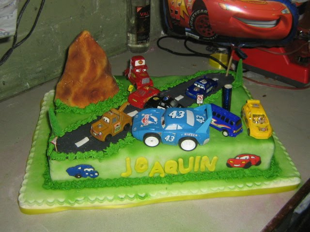 Patty & Carol: Torta de Cars