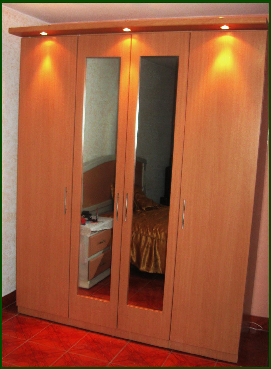 Muebles decoratiba adolfo ibarra v closet 04 puertas for Disenos de puertas de madera para closets