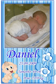 Meu neto, Daniel, nasceu...