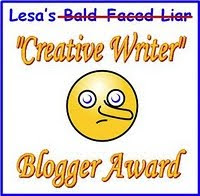 Creative Writer Blogger Award