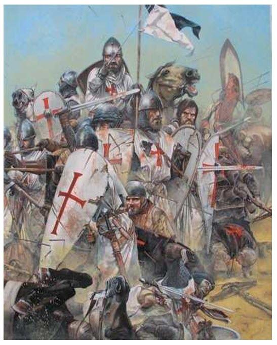 CABALLEROS TEMPLARIOS Caballeros+templarios+en+combate