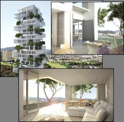 Info de arquitectura edificio con terrazas ajardinadas for Terrazas ajardinadas