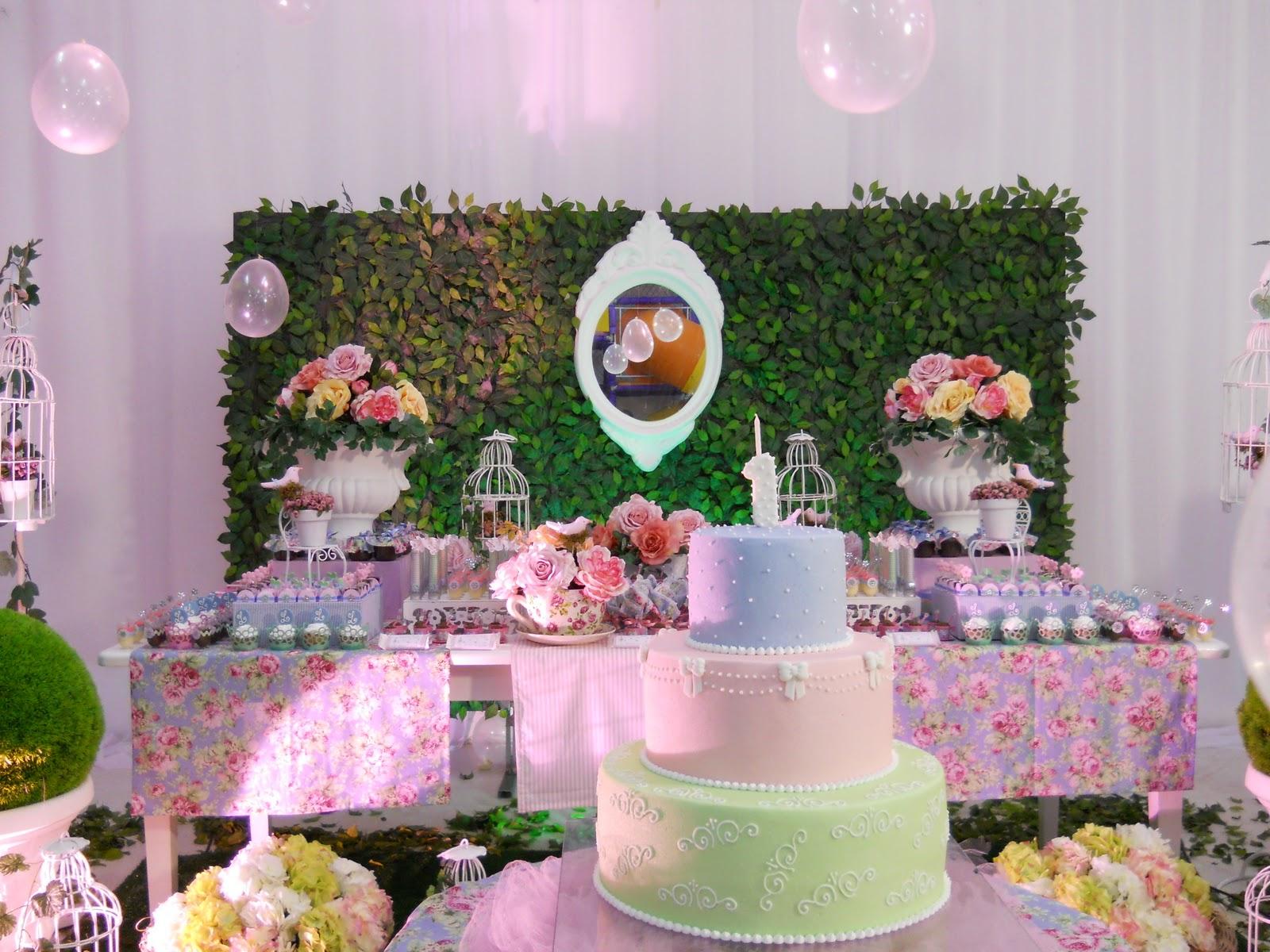 Cenário Principal  O bolo (Jany) estava lindíssimo!