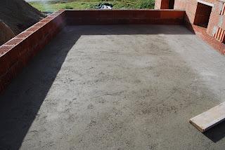 diary hausbau gef lle estrich auf terrasse und balkon. Black Bedroom Furniture Sets. Home Design Ideas
