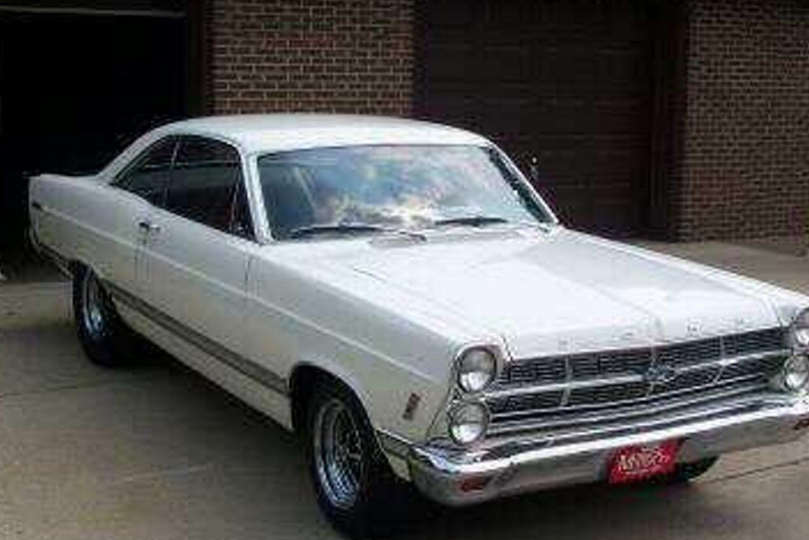 1967 FORD FAIRLANE 500 500XL 427