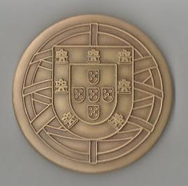Verso da medalha
