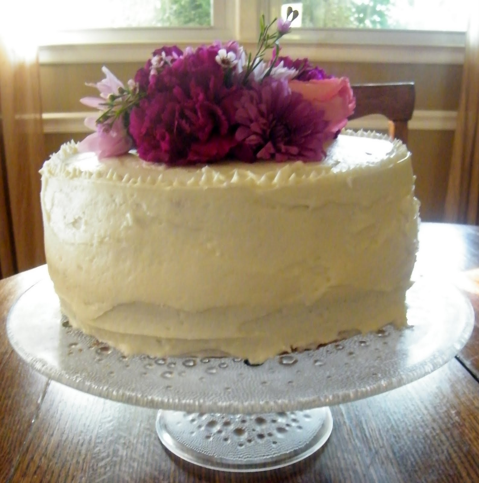 Candy Girl Coconut Cake With Cream Cheese Frosting