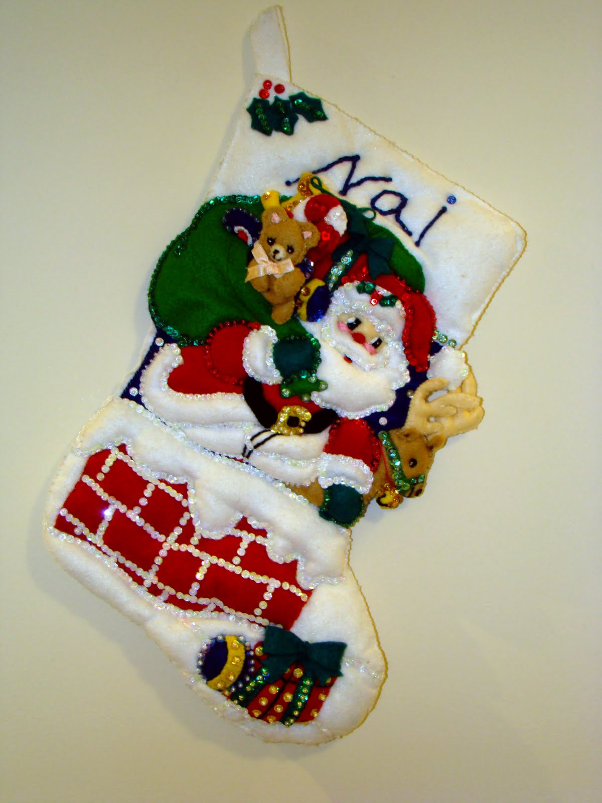 Armario Leroy Merlin Basic ~ Artesanato no feltro Arte de Natal em Feltro