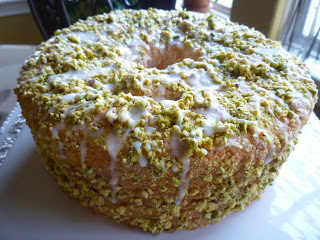 ... Chef In My Head: Lime Angel Food Cake with Lime Glaze and Pistachios